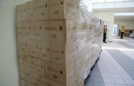 COVID19 Pacchi Comune di Roma CARIA