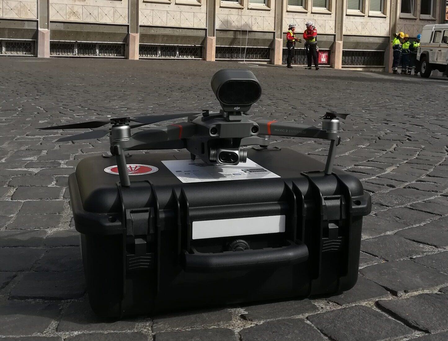 DRONE Giannino Caria - Protezione Civile