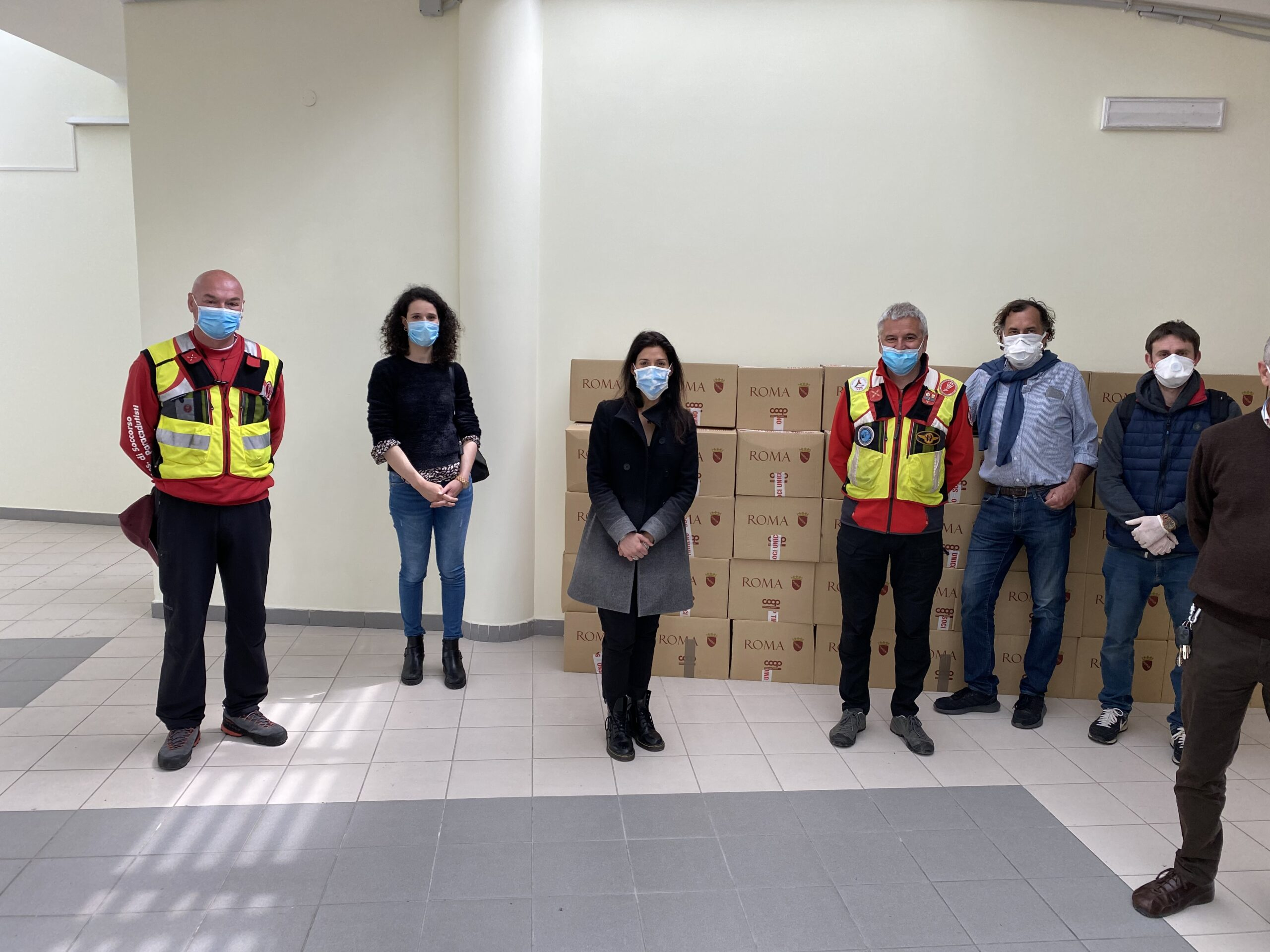 Visita Sindaco di Roma Giannino Caria - Protezione Civile