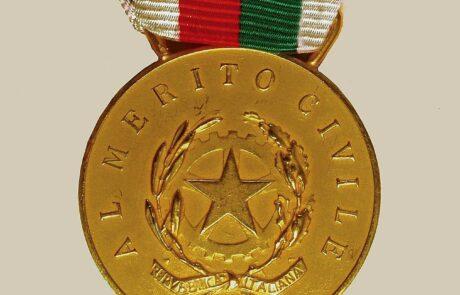 Medaglia d'Oro Marcheggiani - Protezione Civile